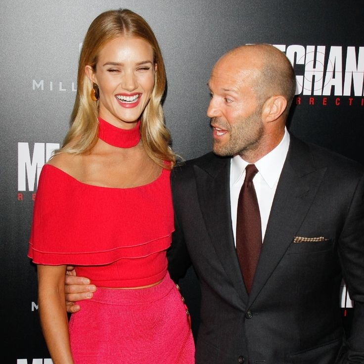 """""""Rosie & Jason attend at the premiere of """"Mechanic: Resurrection"""" in…"""