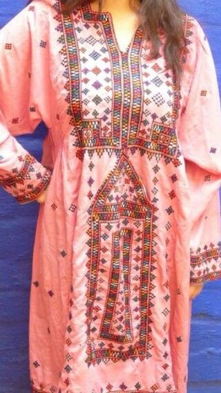 Pink Balochi dress