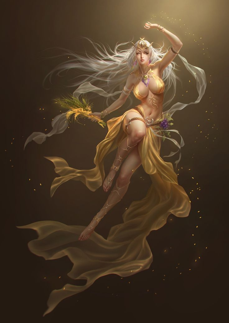 Demeter-the Harvest Godness by rikelee