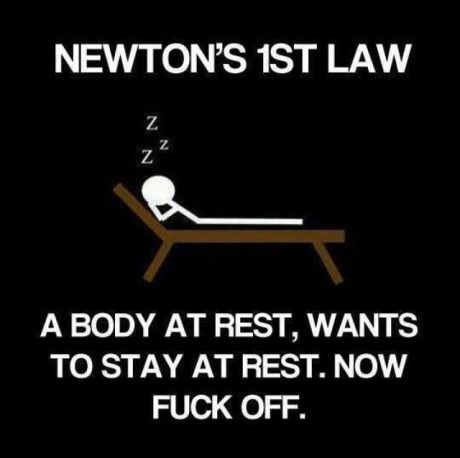 Easy way to learn Newton's law!