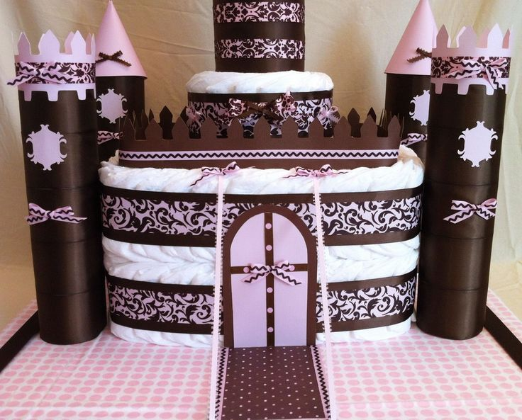 $100 The diaper castle makes an amazing gift that will definitely make you the talk of the baby shower.  This castle can be customized for either a boy or a girl and has a secret spot under the...