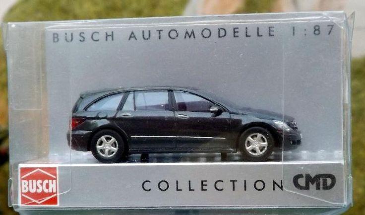 """Busch Modellauto 49705 """"Mercedes Benz R-Klasse CMD Bj. 2006"""" in OVP wie neu"""