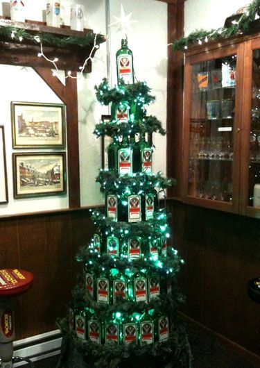 oh no, someone else thought of this too! LOL Jagermeister Christmas
