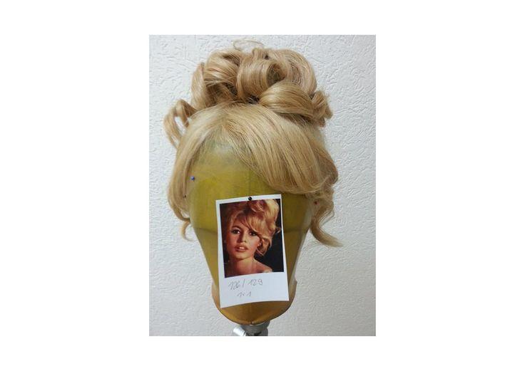 Auftragsarbeit Perückenstyling nach Kundenfoto Brigitte Bardot von Ilka Küting