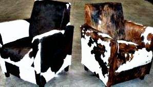 Stoel gemaakt van koeien huid, Bekijk ons uitgebreide aanbod koeienhuid meubelen