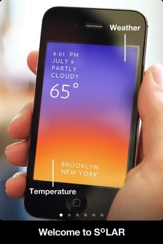 Weather app #UI #design
