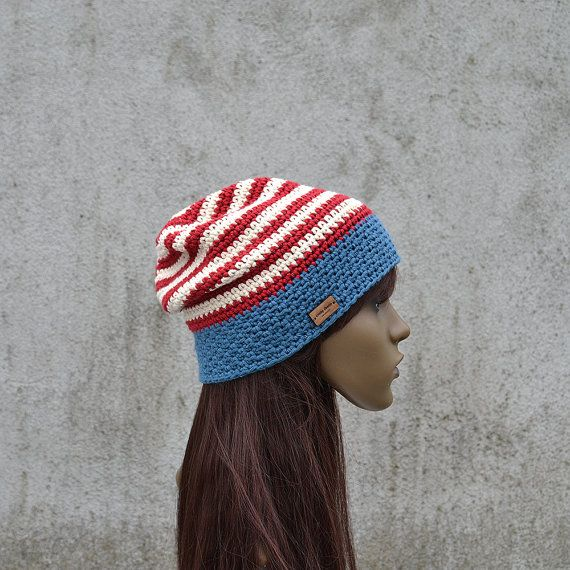 Unisex Patriotic American Hat American Flag Cotton by acrazysheep