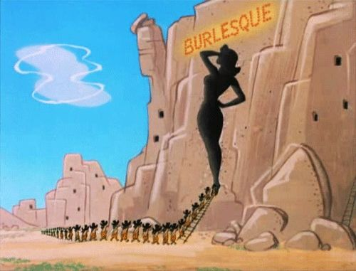 """From """"The First Bad Man"""" - Tex Avery Gifs"""