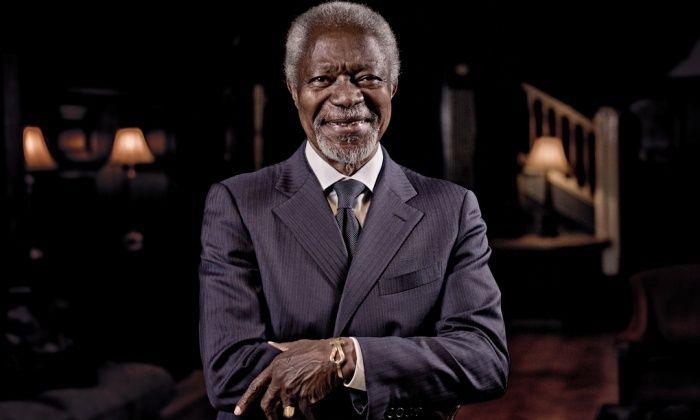 Interview with Kofi Annan