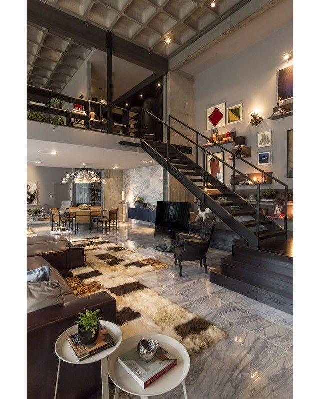 Contemporary Home By CASAdesign     Via @homeadore_decor     #architecture  # · Luxury DecorLoft ApartmentsContemporary ...
