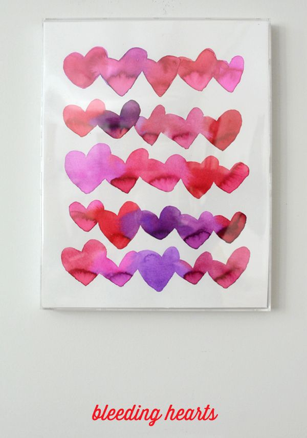 Bleeding Hearts Art Project for Kids