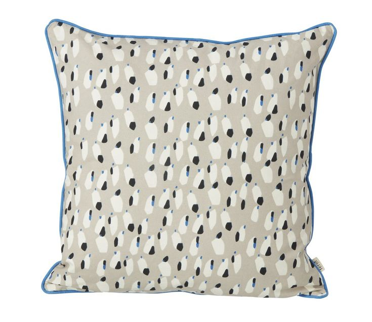 Spotted Cushion in Grey design by Ferm Living