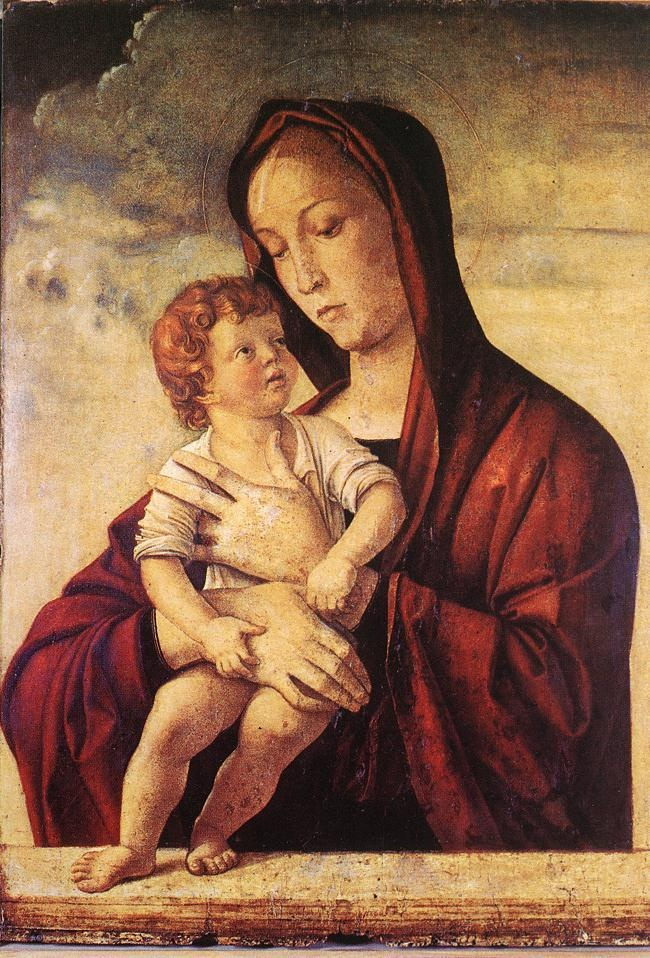 Madonna with Child - Bellini, Giovanni