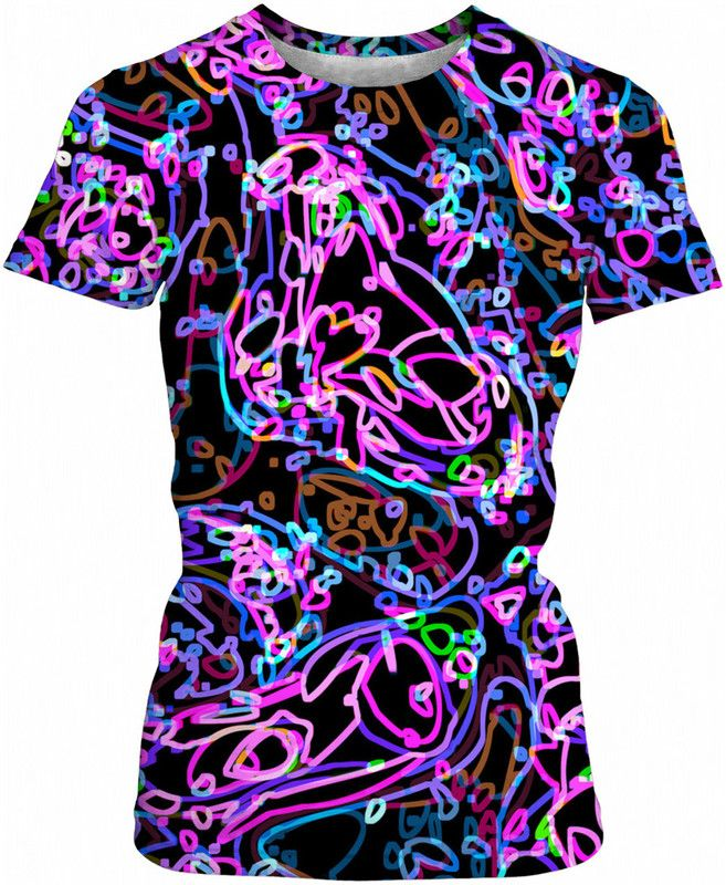 #neon #shirt #ladies #bright #glow #shopping #apparel #clothing #wear