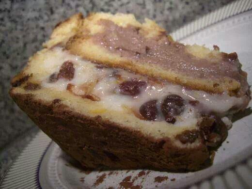 Christmas Panetone Dessert