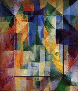 More information on Orphism at Wikipedia (this piece is by Robert Delaunay).