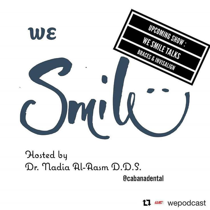"""#Repost @wepodcast  On the next """"We Smile  hosted by Dr. Nadia Al- Aasm""""  she will be discussing Braces and Invisalign .  Dr. Nadia will be interviewing Dr. Maxwell Abraham and wants your feedback . Comment below to let us know any questions you want them to answer or address on the next upcoming show . @cabanadental @abrahamorthodontics #yqg #windsor #dentalpodcast #windsoressex #dental #braces #invisalign #wesmile #dentalshow"""