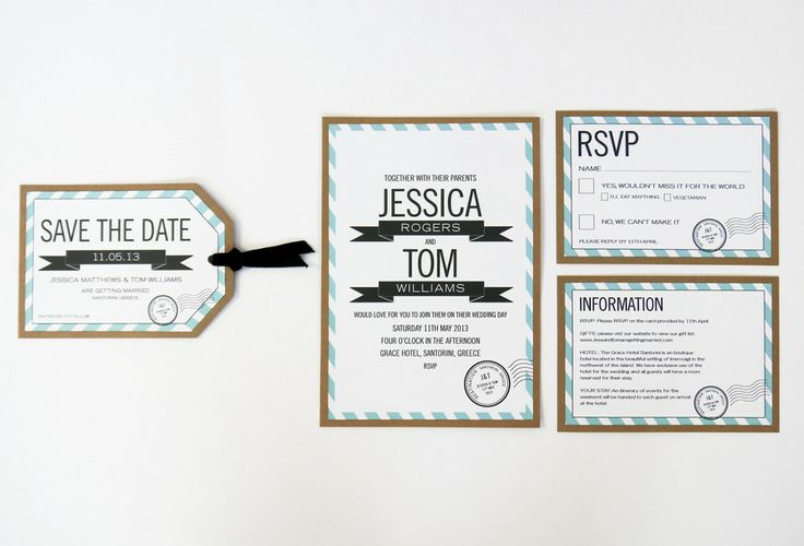 Destination Wedding Invitation range sarahcoll.com