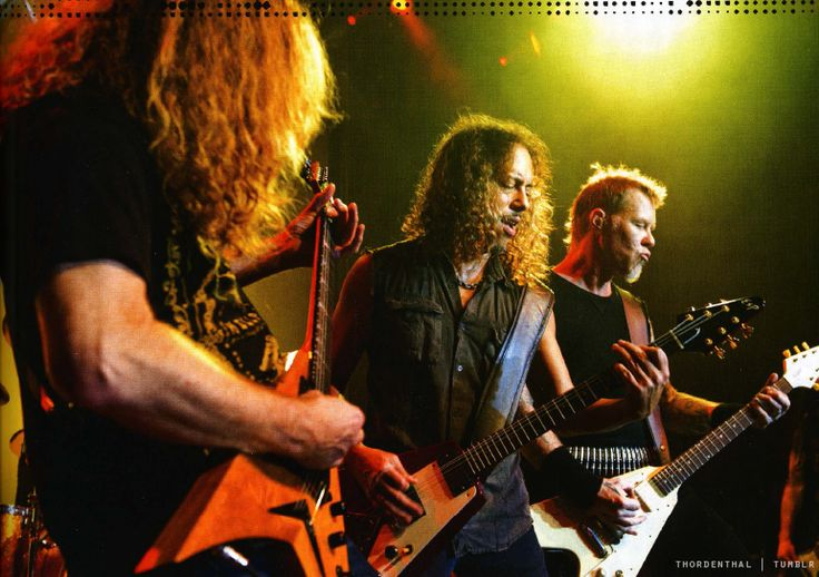 Master of Metallica -  Dave Mustaine, Kirk Hammett & James...
