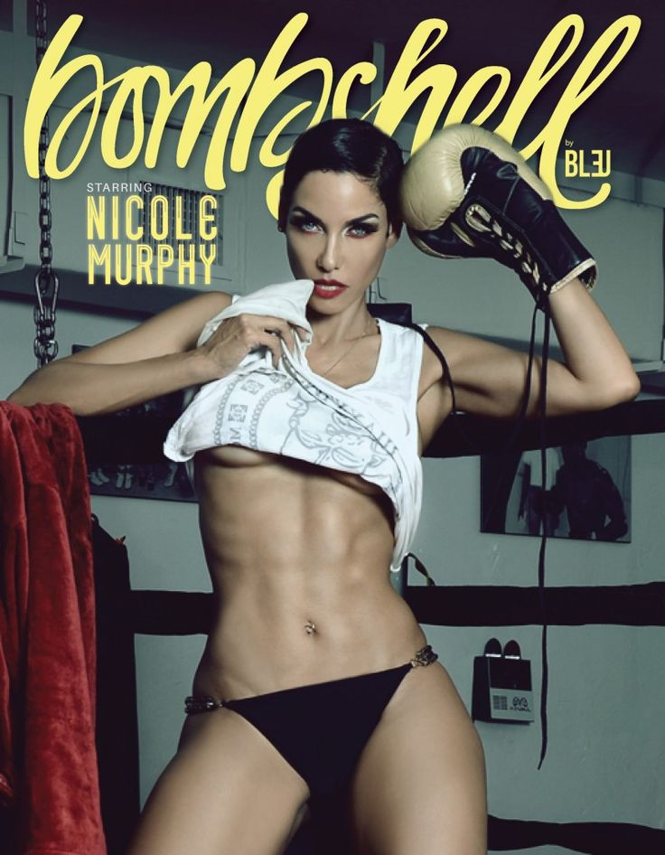 Another KO For Nicole Murphy: The Undisputed Bombshell #nicolemurphy #bombshellbybleu