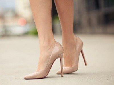 Как похудеть с помощью туфель телесного цвета