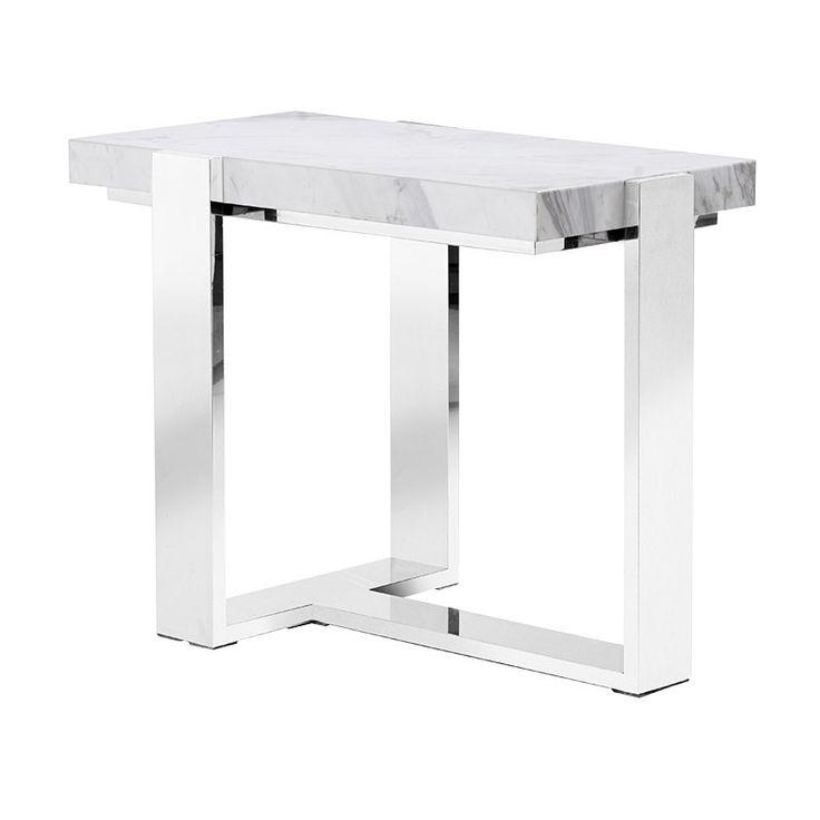 Reykjavik Marble Slab Side Table