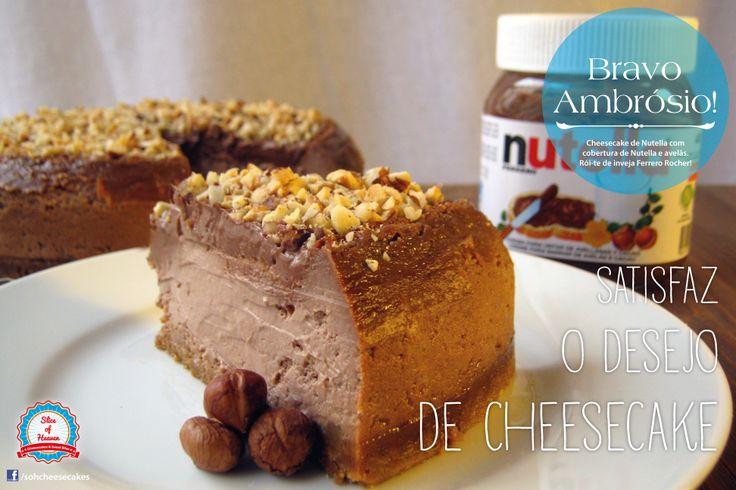 Cheesecake de Nutella -/- Nutella cheesecake
