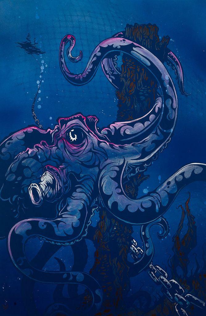 Lurking at Fifty Fathoms on www.davidlozeau.com