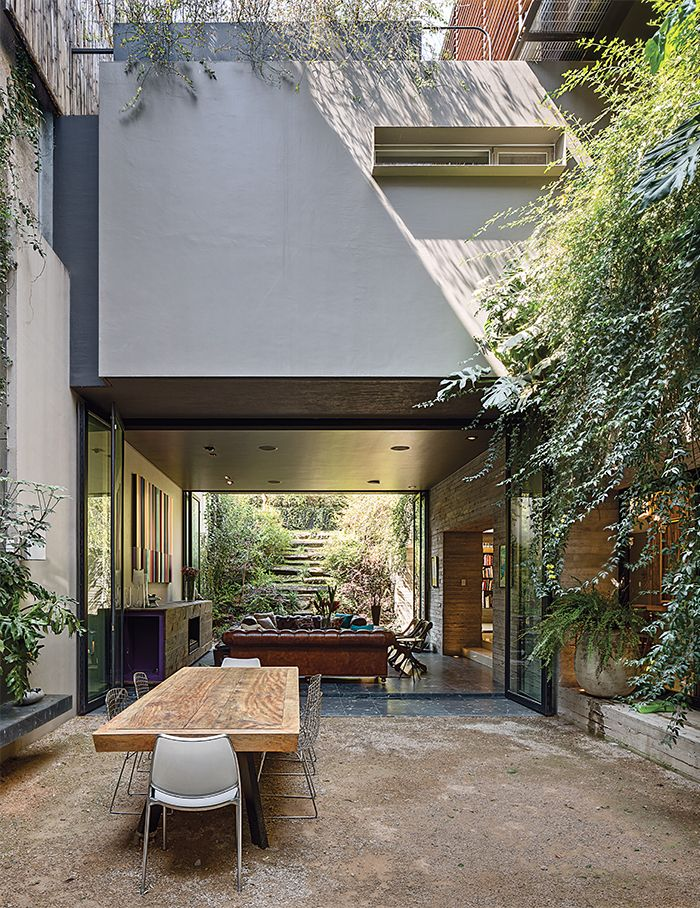 A Sublime Indoor/Outdoor Retreat In Mexico City   Photo 3 Of 6. Outdoor  Dining RoomsPatio ...