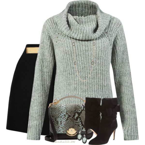 Sweater & Shorts for Fall by houston555-396 on Polyvore featuring polyvore, moda, style, Valentino, Kate Spade, Cynthia Rowley, Nordstrom Rack and Yves Saint Laurent