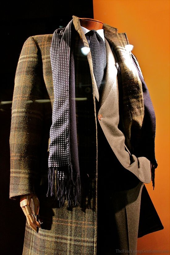 Paul Stuart: Mad For Plaid.  Styled by Nick Sullivan of Esquire.