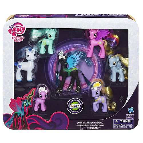 "alyro wants ALL the ponies.  My Little Pony Favorite Collection (Friendship is Magic) - Hasbro - Toys ""R"" Us"
