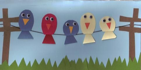 Bird Theme Day - This webpage has lots of bird crafts and activities.