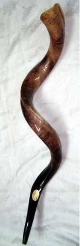 "Kudu Yemenite Horn Shofar Kosher All Polished Approx 28""-30"" New by kudu shofar. $72.85. You are bidding on beautiful kudu horn (yemenith ) Shofar about -28"" -30"" inches (Measurement is around the outside curve of the shofar). This high quality Shofar is hand crafted in Israel , It is all polished. It was checked for having a great sound by a special Shofars Expert and though standing in all kosher standards .Each Shofar checked before shipping."