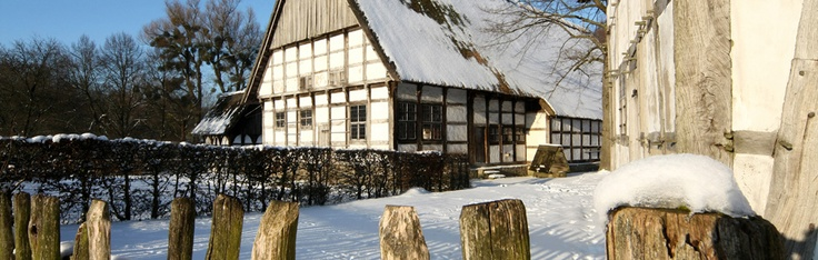Open-air museum in Detmold, Germany
