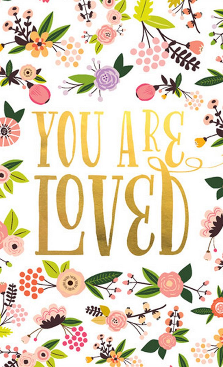 You Are Loved Art Print For the Nursery