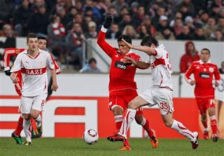 Bancada da Luz - Tudo sobre o mundo Vermelho!: Futebol:Estugarda-BENFICA(0-2)(1-4 na eliminatória)