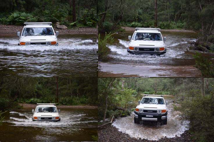 Creek crossings in the Bendethera Valley west of Moruya in the Deau National Park.  A really beautiful place to go on my first off road trip in my FJ Cruiser.  She went like a dream despite my lack of off road ability.
