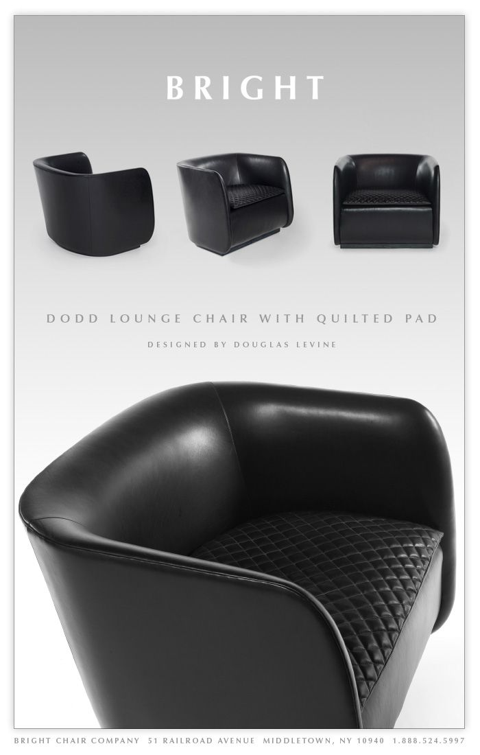 The Dodd Lounge Chair By Bright Chair