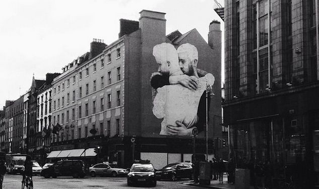 Photo of the week dublin equality mural http www for Dublin gay mural