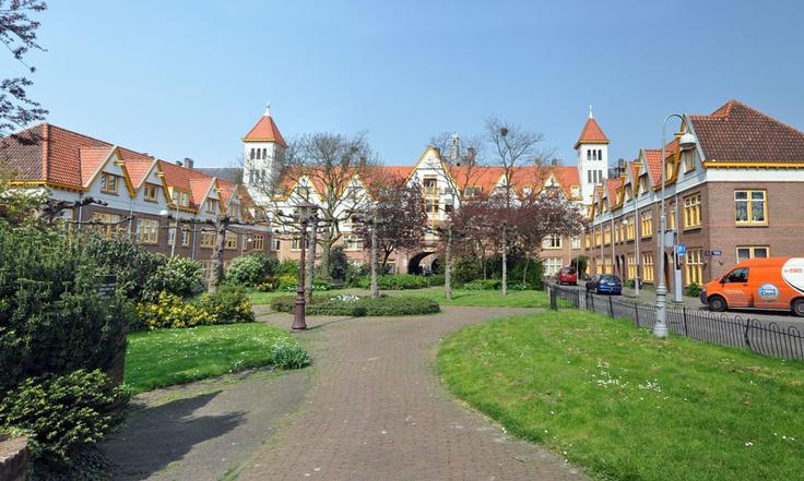 Zaanhof Amsterdam, Amsterdamse School