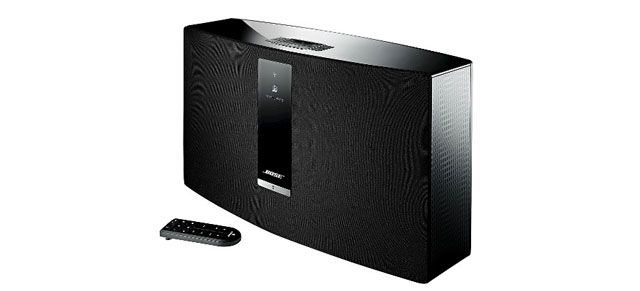 Turn up the volume in your co-worker's office with the powerful Bose Wireless Music System!