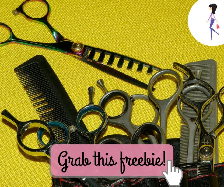Sign up for FREE hair salon services and look your best!