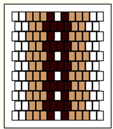 Inkle loom pattern