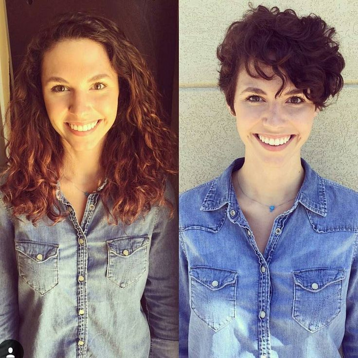 Nice curly pixie by @stylist_mc on @alexisclare by nothingbutpixies