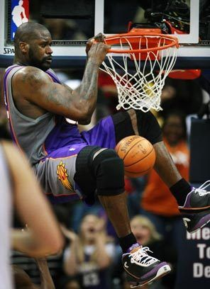 Shaquille O'Neal - WAY above the rim! #NBA