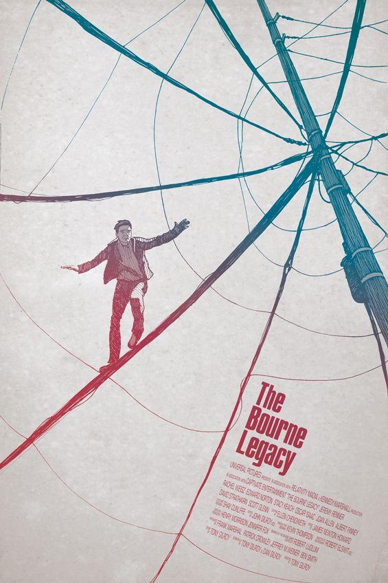 Alternative Bourne Legacy Posters - Films - ShortList Magazine
