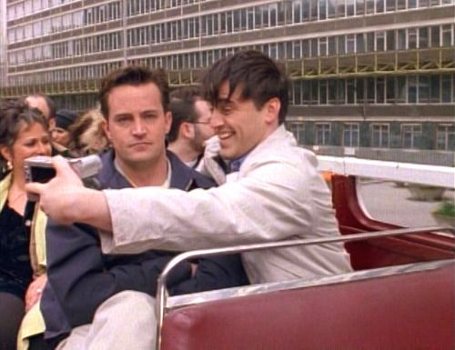 Chandler's face says it all.