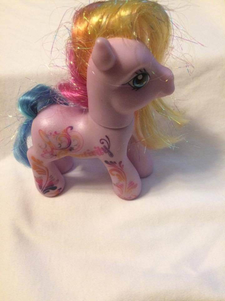 Vintage My Little Pony 2007 25th Anniversary Toollaroola MLP,My Little Pony, Hasbro My Little Pony, Hasbro Pony,Hasbro MLP,Vintage,Toy by Charmedvintagestore on Etsy