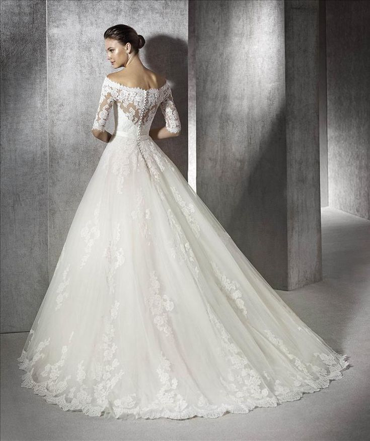 San Patrick Wedding Dress ZUREDA back